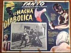 "Santo in El Hacha Diablica (1965) Lobby Card (16 1/2"" x 11 1/2"") null http://www.amazon.com/dp/B0137GE75W/ref=cm_sw_r_pi_dp_4a52vb01PGRJ8"
