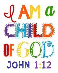 Please read entire description before purchase :)  I am a child of God  Great for a nursery, childs room, playroom, or anywhere in your home.