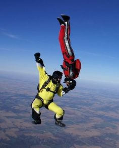 Everything is better 10,000 feet in the air!