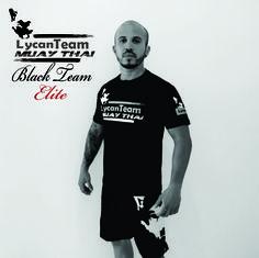 Camiseta Black Team Elite | Muay Thai #LycanFightWear #MuayThai #LycanBlackTeamElite #FightWear