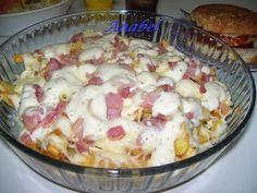 Queda muy bien como entrante o plato único - Receta Entrante : Patatas al estilo foster hollywood por Anabel