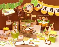 monkey themed birthday party - Google Search