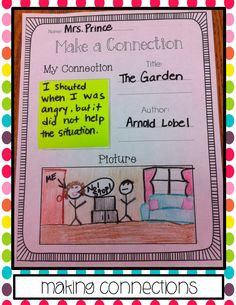 Sticky Note Reading Comprehension Strategies!