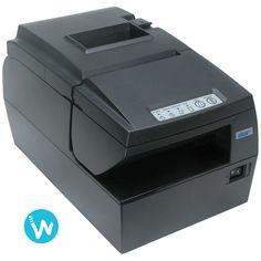 N'hésitez plus, l'imprimante point de vente multifonctions Star HSP7543 peut imprimer tickets et chèques de la façon la plus simple possible.