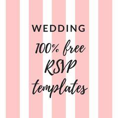 13 best wedding rsvp templates images wedding rsvp wedding