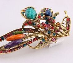 Lovely Vintage Jewelry Crystal Hair Clips Hairpins- For Hair Clip Beauty Tools * Learn more by visiting the image link.