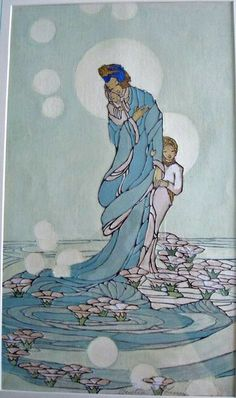 Woodblock prints (Estampes) :: Sea of Lilies