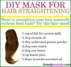 Have you ever thought of using a homemade hair straightening mask? Try this recipe out! The first time you straightened your hair was when you were 14 and ever since then you got hooked. You now can't live without straightening your hair every single day. But what's this? Your hair looks dry, damaged and is …
