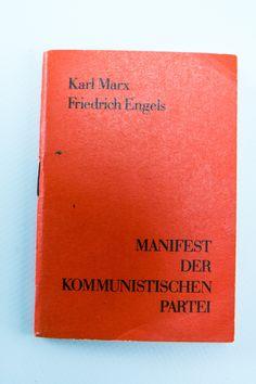 """DDR Museum - Museum: Objektdatenbank - """"Manifest"""" Copyright: DDR Museum, Berlin. Eine kommerzielle Nutzung des Bildes ist nicht erlaubt, but feel free to repin it!"""