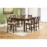 Found it at Wayfair - Albany 7 Piece Counter Height Dining Set