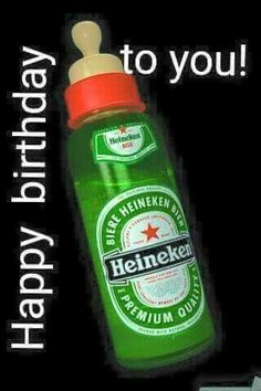drinkbig kisses from … Birthday Quotes : Happy beerday!drinkbig kisses from all of us