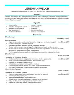 How To Write An Executive Resume Phd Resume  Resume Samples  Pinterest