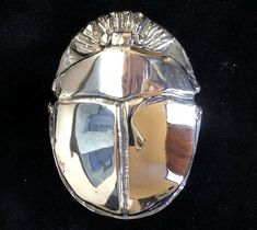 Silver scarab belt buckle cast with the lost wax method by Marcela Ganly Bronze Sculpture, Belt Buckles, Wax, It Cast, Lost, Silver, Money, Belt Buckle