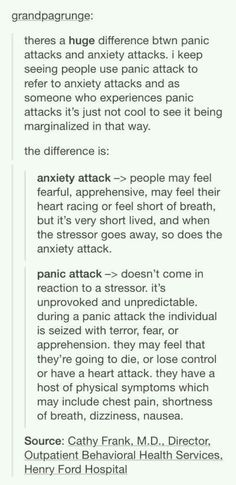 I really appreciate this post, as someone who experiences both but has trouble explaining the difference to family members who don't have either but are trying to understand