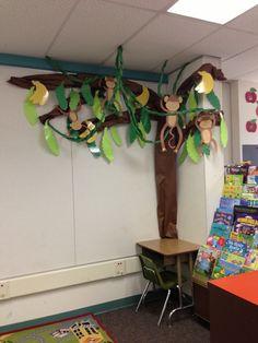 My banana tree!! Love my monkey theme!