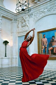 celebritiesofcolor: Lupita Nyong'o photographed by Mert Alas and Markus Piggot for VOGUE Magazine