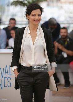 Actress Juliette Binoche attends the 'Clouds Of Sils Maria' photocall during the 67th Annual Cannes Film Festival on May 23, 2014 in Cannes, France.