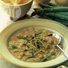 Zuppa di ceci e asparagi @ allrecipes.it