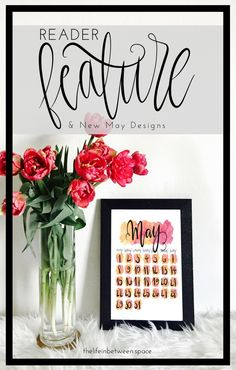 Reader Feature // New May Designs! May Designs, Paint Designs, Choose Love, Design Shop, Life Organization, Lifestyle Blog, Hand Lettering, Place Card Holders, Hand Painted