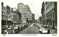 St Ann's Square sometime in the late 1950s