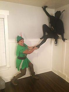 Peter Pan + his shoadow duo - Photo from Carli Claflin