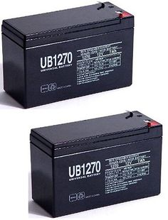 12V 7Ah Bruno Electra-Ride Stairlifts Battery MK BATTERY ES7-12 Replacement - 2 Pack