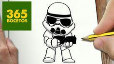 COMO DIBUJAR SOLDADO IMPERIAL KAWAII PASO A PASO - Dibujos kawaii facile...