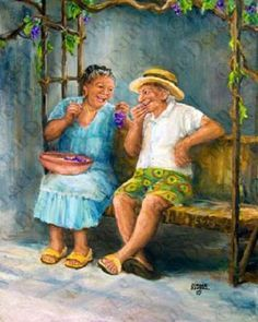 Elder, Image Details, Age Beautiful, Diane Dengel, Dianne Dengel, Grandparents, Families, Dengel Art, Beautiful Art