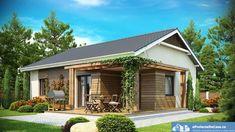 Casa Prefab 72 x € Design Case, Home Fashion, House Plans, Cottage, Photos, Outdoor Structures, Cabin, House Styles, Outdoor Decor