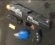 Foam Dart Gun Blaster Toy Hand Gun Pistol with Light up Aiming Scope, No Jamming…