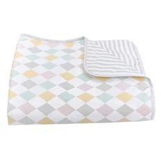 Reversible blanket & playmat (http://www.urbanmummy.co.uk/harlequin-dawn-reversible-play-blanket/)
