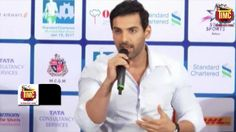 John Abraham at STANDARD CHARTERED MUMBAI MARATHON 2017 PRESS CONFERENCE #Bollywood #Movies #TIMC #TheIndianMovieChannel #Celebrity #Actor #Actress #Magazine #BollywoodNews #video #indianactress #Fashion #Lifestyle #Gallery #celebrities #BollywoodCouple #BollywoodUpdates #BollywoodActress #BollywoodActor #News