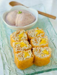 Mango Sushi Rolls