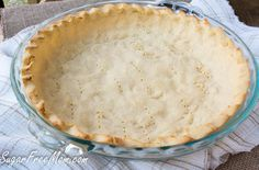 <em> This Low Carb Coconut Flour Pie Crust is perfect for either sweet or savory pies! It's gluten free, grain free, low carb and perfect for those who have tree nut allergies and can't use almond flour. </em>   Have you struggled to find a healthy, nut free, low carb pie crust you can literally use for anything? Don't you wish there was just one type of pie crust that was fool proof and picky family appro...