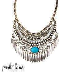 Montana necklace #parklane #springline #2016 www.parklanejewelry.com/rep/sararios