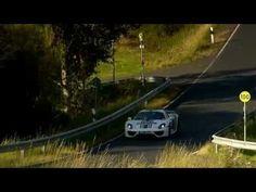 Porsche 918 Spyder plug-in hybrid Martini livery driving video with engine sound