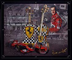 Hommage an Ferrari & Michael Schumacher Michael Schumacher, Ferrari, Artworks