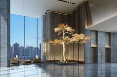 Get the latest ideas and luxury inspirations to decor a recepetion hotel or a lobby.