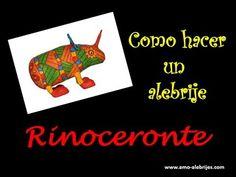 Como hacer un alebrije rinoceronte: Aprende en 2 minutos