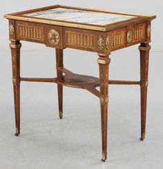 ** A Gustavian table signed by G Iwersson. sk1 029000