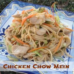 Simple Fare, Fairly Simple: Chicken Chow Mein