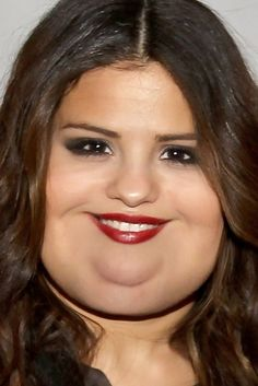 What Celebrities Would Look Like If They Were Fat