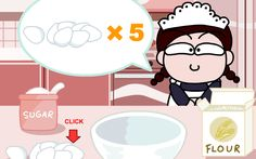 Become the most Proficient and fastest Kitchen Queen The game is easy to play and extremely enjoyable. The objective of the game is to prepare a delicious and most delightful cake within the shortest possible time. The cake should also be decorated with all the ingredients provided. The more time you have left by the … Br Ice Cream, Cream Cake, Games For Girls Online, Kitchen Queen, Maker Game, Cake Makers, Cooking Games, Sweet Memories, Shrek