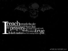 Avenged Sevenfold - Dear God - song lyrics, song quotes, songs ...