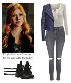 Clary Fray - shadowhunters by shadyannon on Polyvore featuring polyvore fashion style Doublju Topshop clothing