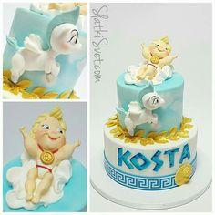 SlatkiSvet by Vanja Hulk Birthday, Disney Birthday, Baby Birthday, 3 Year Old Birthday Party Boy, 1st Birthday Party Themes, Birthday Ideas, Baby Shower Themes, Baby Boy Shower, Bts Cake