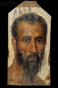 Egypto-Roman funeral portrait