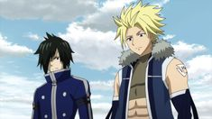 Rogue and Sting arrive at Malba Fairy Tail Movie, Fairy Tail Sting, Fairy Tail Anime, Twin Star Exorcist, Blue Exorcist, Fairy Tail Season 3, Tokyo Ravens, Types Of Magic, Trinity Seven