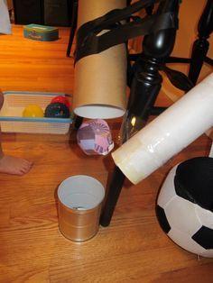 Ball Roll Infant Toddler Preschool Activity