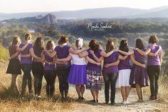 Best friends, summer, violet